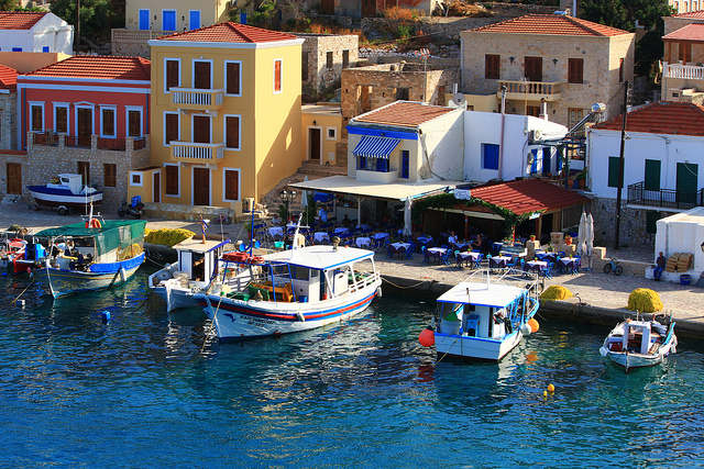 Anne Cooke: Every winter, I dream of Halki