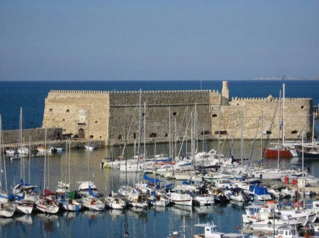 The Venetian fortress in Heraklion