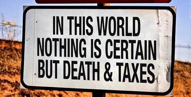 Canadian death tax