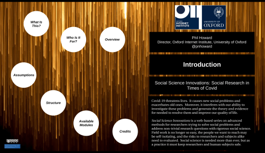 Social Science Innovations