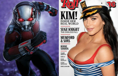 Ant Man Good - Rolling Stone Bad