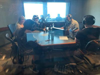 Final Podcast at LA Radio Studio
