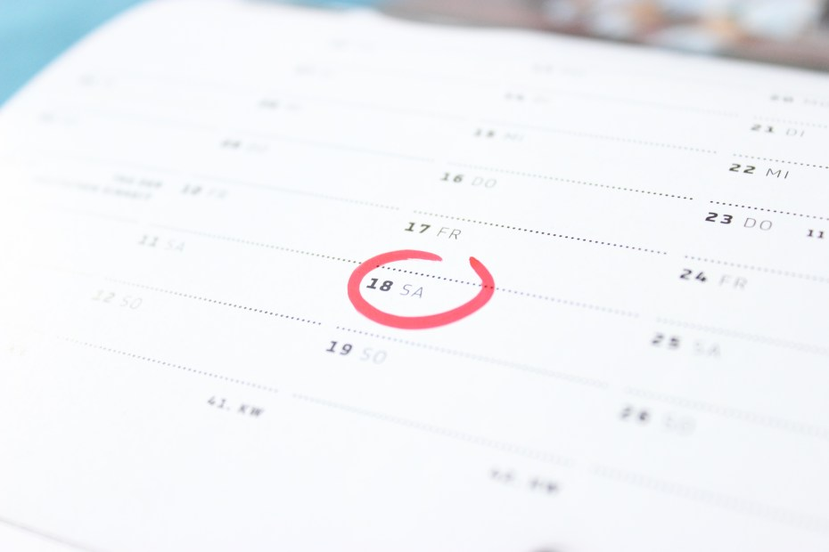 why writers need calendars