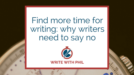 Find more time for writing header image