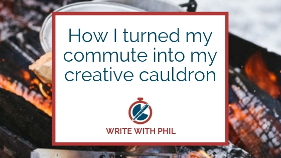 How I turned my commute into my creative cauldron header