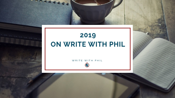 2019 on Write with Phil header image