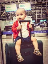 Enregistrement des valises