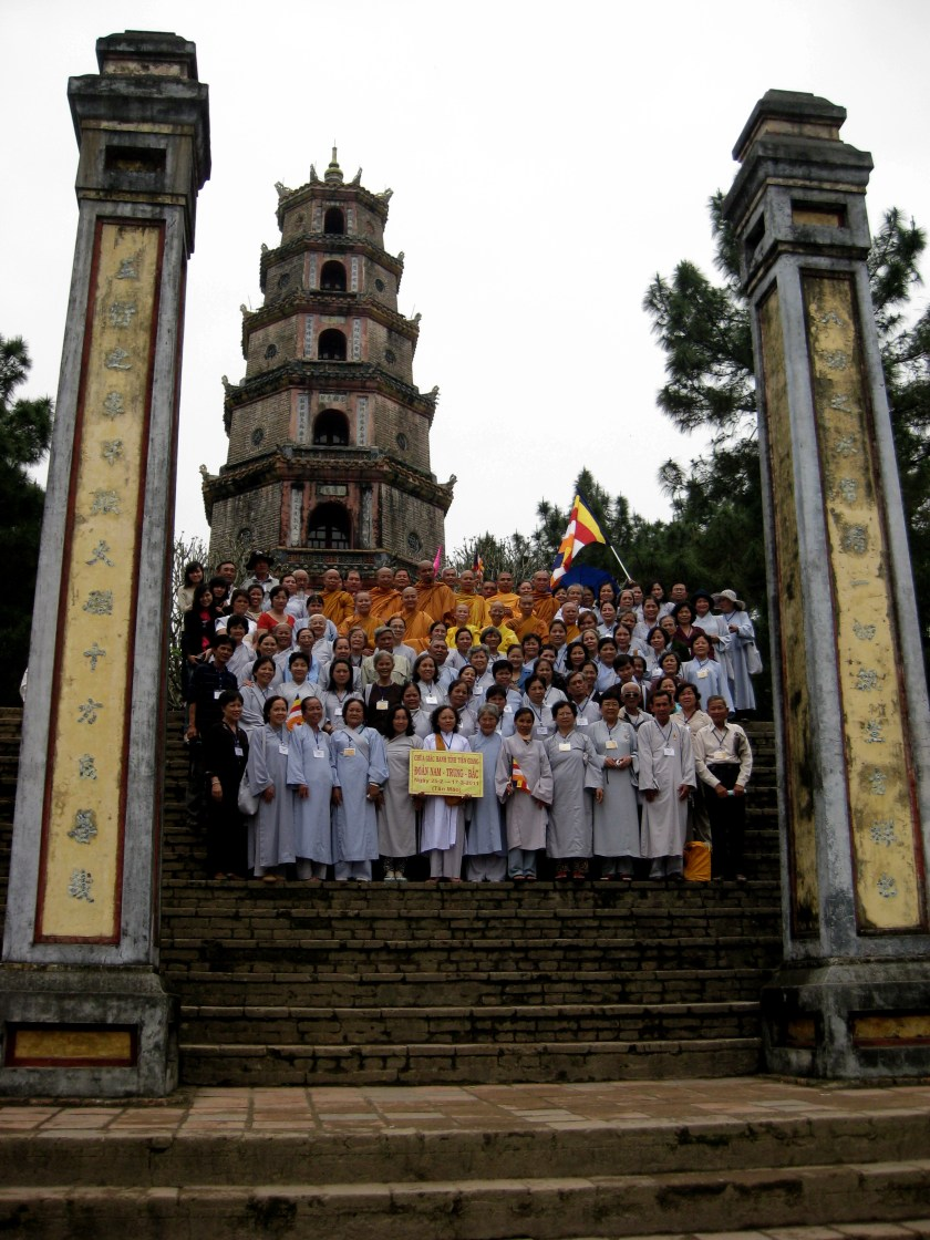 Buddhist Visitors from Tiền Giang