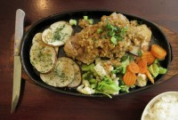 Garlic Chicken in Japantown