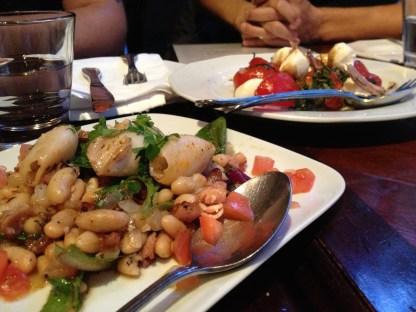 Tomato & Bocconcini, Calamari