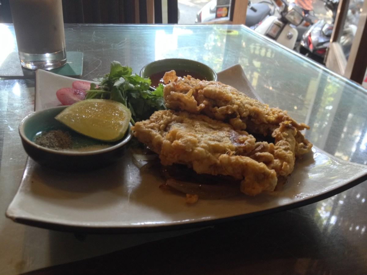 Fried Soft-Shell Crab, Chả Cá