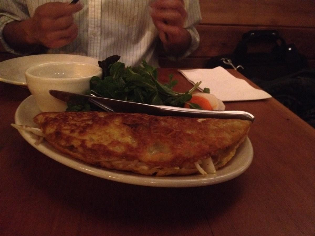 Bánh Xèo, Tofu Phở, Pork Chop Rice Plate
