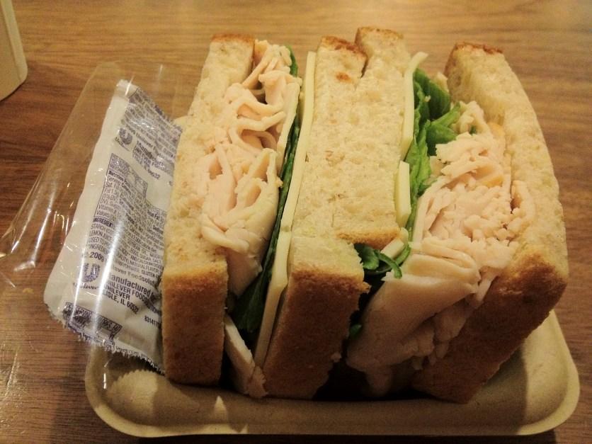 Turkey & Swiss Sandwich
