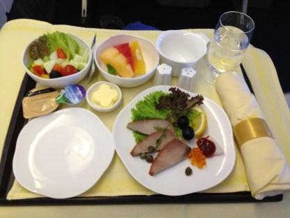 Mixed Fruit, Salad, Mackerel