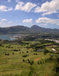 Helicopter Ride View of Kauai