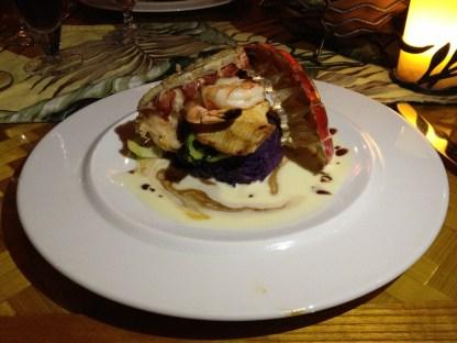 Monchong, Pacific Prawns, Kona Cold Lobster