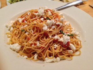 Tomato Basil Spaghettini