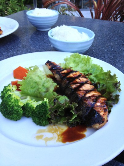 Salmon Teriyaki