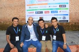Chandra Maharzan, Philip Arthur Moore, Sanam Maharjan, Sakin Shrestha