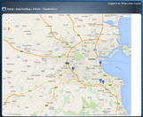 Geo-location mapping in bxp using Google Maps