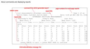 Avaya Aura Communications Manager Reports