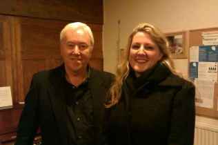 Philip and soprano Jo Weeks, Alton Music Box, December 2012