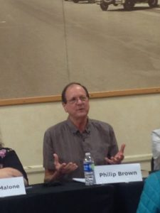 Contemporary fantasy writer Philip Brown