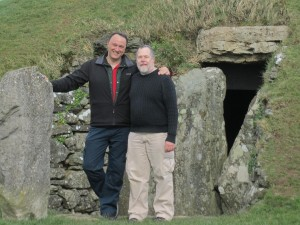 John Beckett and Kristoffer Hughes