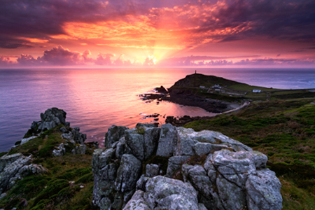 Cape Cornwall by Tom Walker
