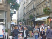 crowd at the braderie
