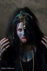Kali, the Hindu Goddess of Death & Destruction.