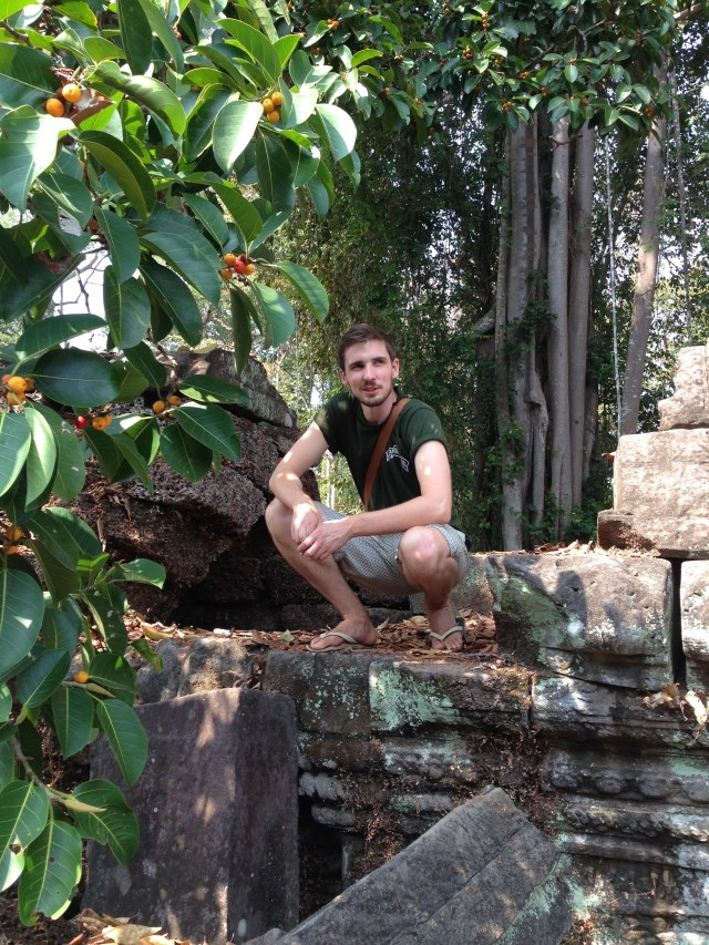 Me in some ruins in Cambodia