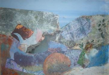 Ghasri Coast, oils and collage.jpg