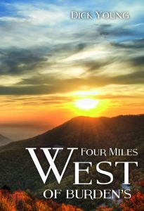 Four Miles West of Burden's book cover