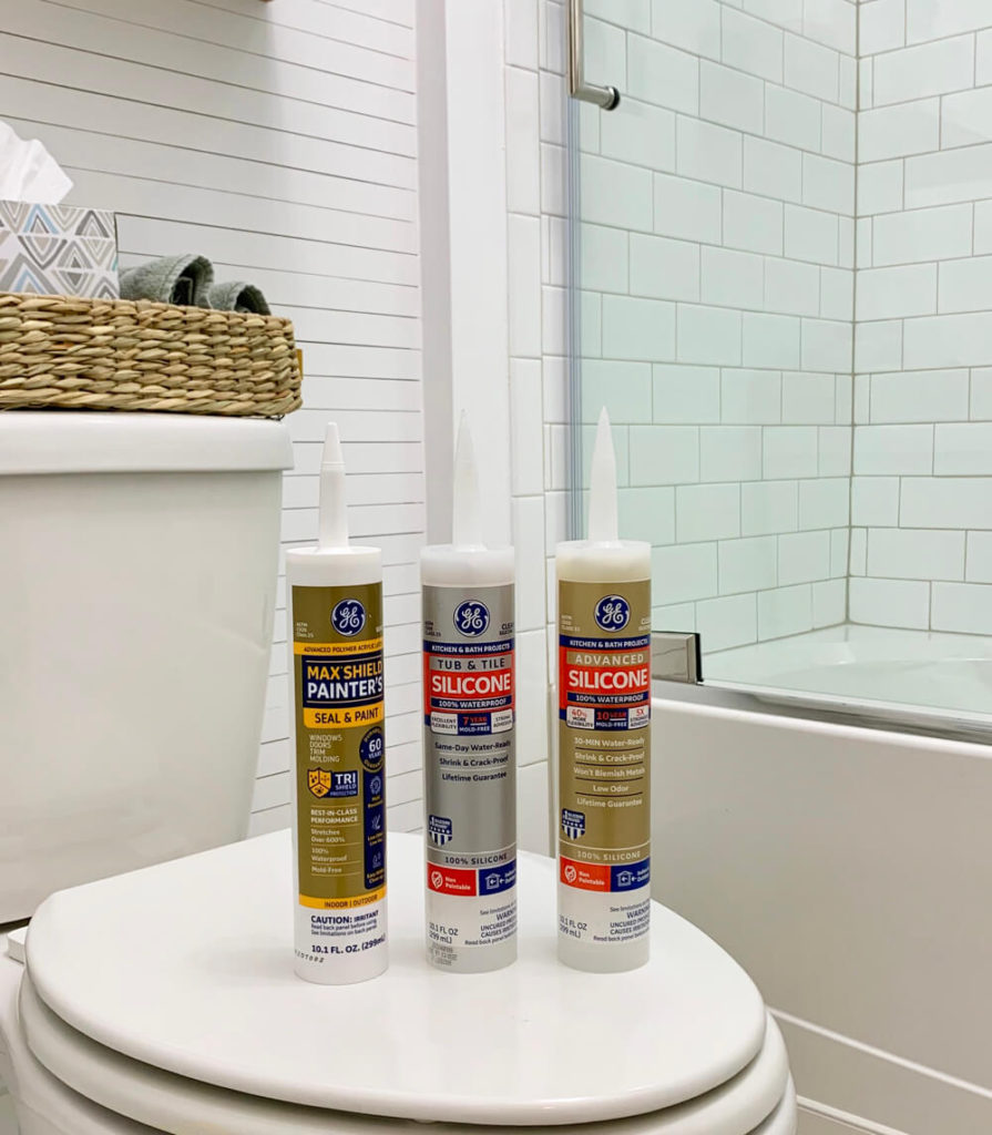 using sealants in a bathroom remodel