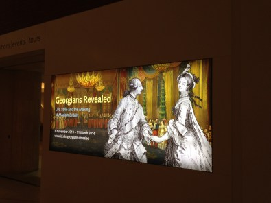 Georgian's Revealed Exhibition British Library | Philippa Jane Keyworth