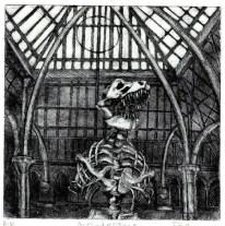 Philippa Jones, Architecture,6x6,etching,2010