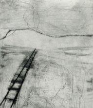 Tracks - Drypoint