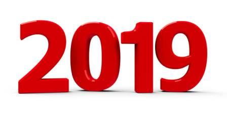 Dates importantes de 2019
