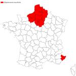 Les seize départements reconfinés