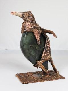 série Buffon - Manchot Perma 1 Sculpteur Philippe Buil