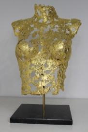 philippe buil sculpteur Belisama or 24 Carats La rose d'Assur 2