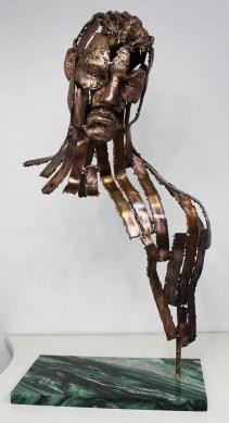philippe buil sculpteur Kouros Le Témoin 1