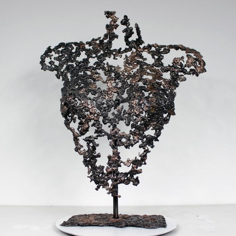 Belisama Libération - Sculpture Philippe Buil - Buste de femme