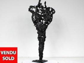 Pavarti ONE MORE - Sculpture Philippe Buil - Corps de femme meta