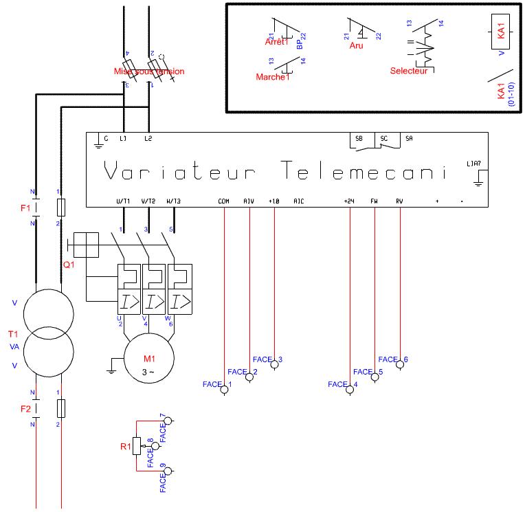 Variateur 3 Phases