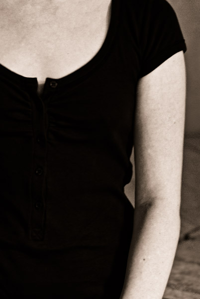Petite robe noire en couleur