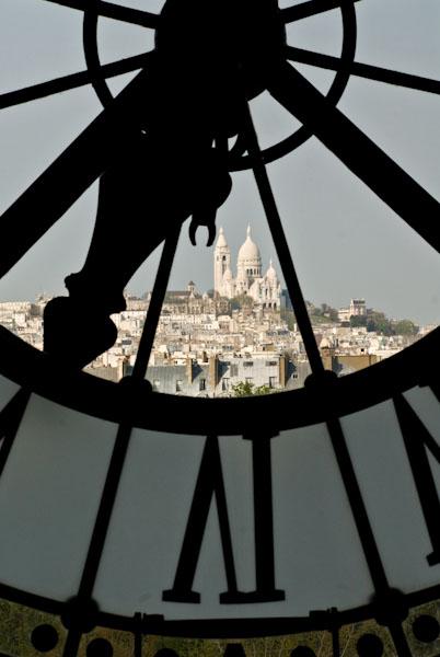 Paris, Sacré Cœur depuis Orsay