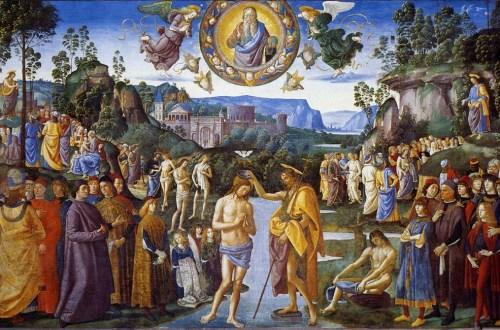 Perugino, Le baptême du Christ