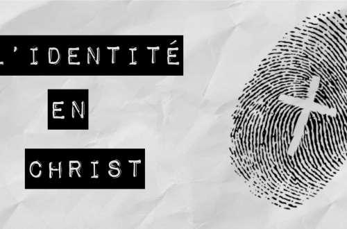 Identité en Jésus